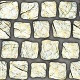 S106 textura sem emenda - pavers da pedra Fotografia de Stock