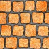 S110 textura sem emenda - pavers da pedra Foto de Stock Royalty Free