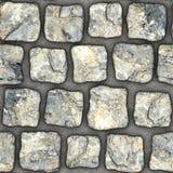 S103 textura sem emenda - pavers da pedra Fotos de Stock