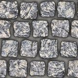 S108 textura sem emenda - pavers da pedra Imagens de Stock Royalty Free