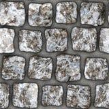 S104 texture sans couture - machines à paver de pavé rond Photo libre de droits