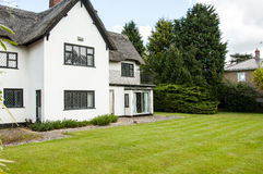 1930's thatched house Royalty Free Stock Image