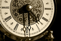 It's about time ... Old clock-face stock images
