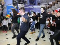 The Carnival time - dancers. It`s the time of the carnival - dancers in Romania at the 9th edition of the `The Carnival Time` festival, dedicated by the Hellenic stock footage