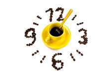It's time for coffee Royalty Free Stock Images