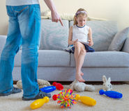 It's time to clean up your toys! Stock Image