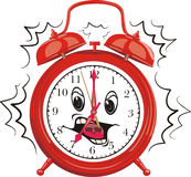 It`s time to get up. Time to work, time for school, wake up Royalty Free Stock Photography