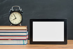 It`s time to learn how to use Digital Tablet for back to school Royalty Free Stock Images