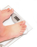 It's time to lose weight Royalty Free Stock Image