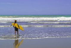 It's time to surf!! stock image