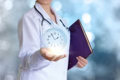 It`s time to take care for your health! stock photo