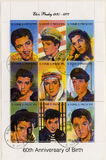 S. Tome E Principe  circa 2002 stamps of Elvis Pre Royalty Free Stock Image