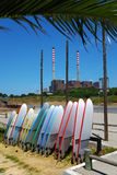 S. Torpes Surfboards Royalty Free Stock Photography