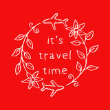 It`s travel time Stock Image