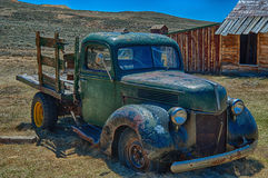 1930's Truck Relic, located at Bodie State Park, CA stock photos