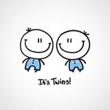 It's twins Royalty Free Stock Photography