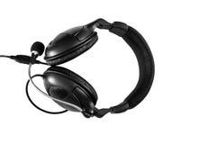 słuchawki mike Obraz Stock