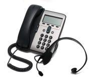 słuchawki telefonu od white odizolowane Zdjęcia Royalty Free