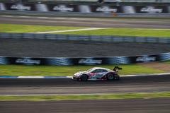 S-vägen MOLA GT-r av MOLA i GT500 springer på Burirum, Thailand 201 Royaltyfria Foton