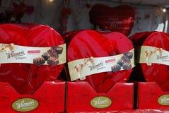 ` S Valentine Chocolate de América Fotos de archivo libres de regalías