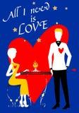 S. Valentine's Lovers Stock Photos