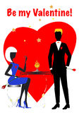 S. Valentine's Lovers Royalty Free Stock Photo