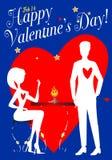 S. Valentine's Lovers Stock Image