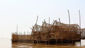 S?ve de Tonle, Cambodge image libre de droits
