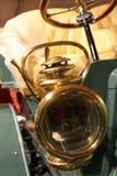 1900s vintage american car gas headlamp Royalty Free Stock Image
