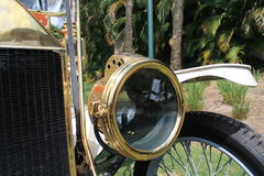 1910s vintage american car gas headlamp Stock Image