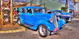 1930s vintage American Ford Stock Photo