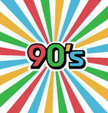 90s Vintage Art Background Stock Photo