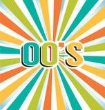 2000s Vintage Color Background. Vector 2000s Vintage Color Background Stock Photo