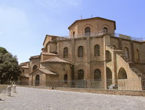 Basilica of San Vitale Stock Images