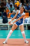 s-volleybollkvinnor Arkivbild