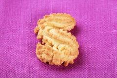 S-vormig koekje royalty-vrije stock afbeelding