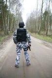 S.W.A.T Soldat Stockbild