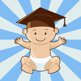 It's a wise child Royalty Free Stock Photo