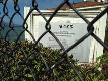 ` S WW2 U de San Francisco S Gamme de amortissement magnétique navale, San Francisco Bay 3 Images libres de droits