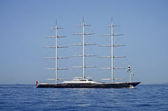 S/Y Maltese Falcon Stock Photos