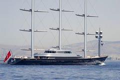S/Y Maltese Valk royalty-vrije stock foto