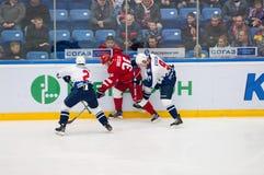 S Yegorshev (2), A (36) Nikulin i K Ashton (9) Zdjęcia Stock