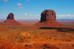 słynny pomnikowego filmie miejsca Utah stara dale zachodnia Zdjęcia Royalty Free