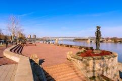 Słynny punkt zwrotny Novi Sad fotografia stock
