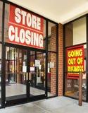 Saída da loja do negócio Imagem de Stock