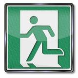 Saída de emergência Imagem de Stock
