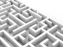 Saída do labirinto Foto de Stock Royalty Free