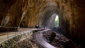 Saídakocjan das cavernas de Å, Eslovênia fotografia de stock royalty free