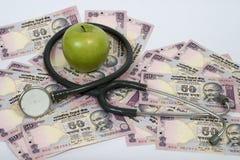 A saúde é riqueza Foto de Stock Royalty Free
