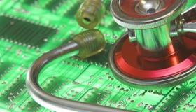 Saúde da tecnologia Fotos de Stock Royalty Free